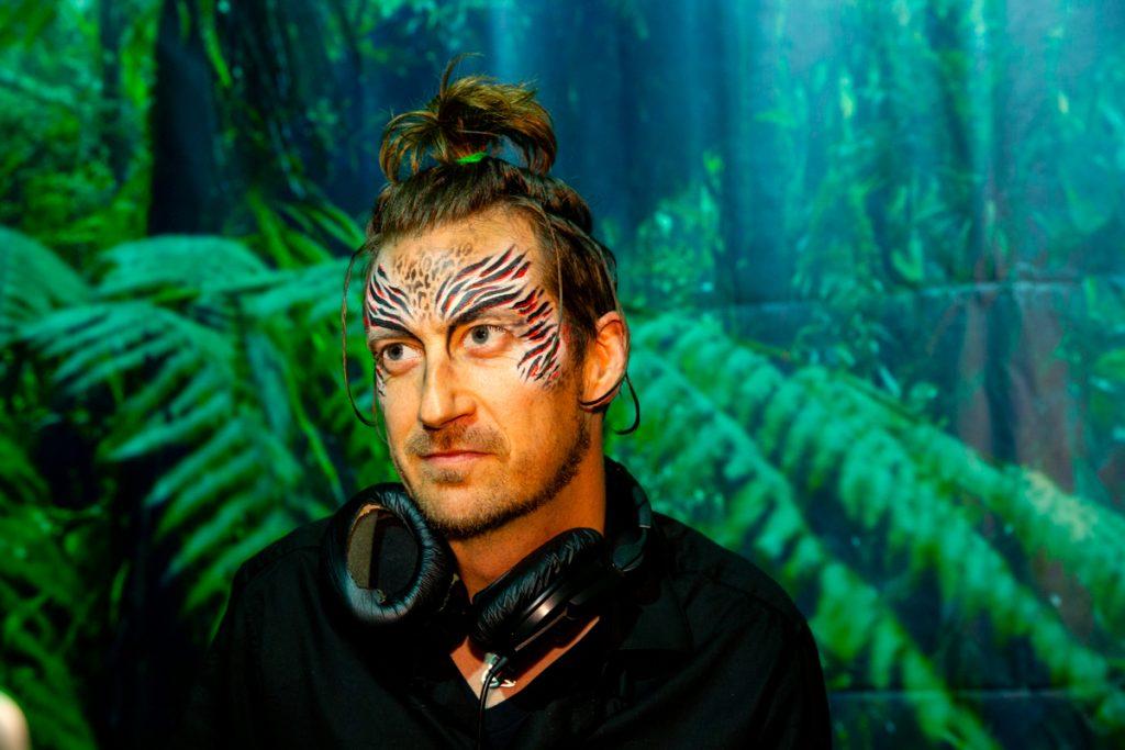DJ Saint Patrick with Facepaint